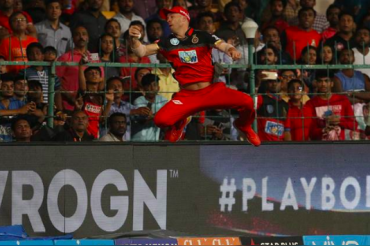 I made it look better than it was: AB de Villiers on Spiderman-like Catch
