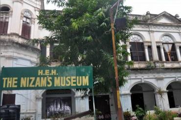 Gold and diamond stuff stolen from historic Nizam Museum