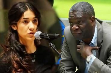 डेनिस मुकवेगे और नादिया मुराद को मिलेगा 2018 का शांति का नोबेल प्राइज