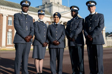 For first time Britain's Air Force gets a Sikh and a Muslim 'padres'