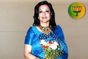Veteran actor Moushumi Chatterjee has shifted from Congress to BJP