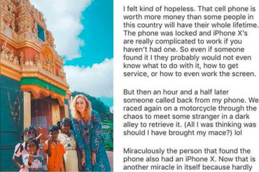 "American blogger critized for saying ""Indians too poor to buy iPhones"""