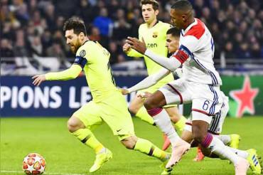 Champions League: Barcelona draw blank in Lyon
