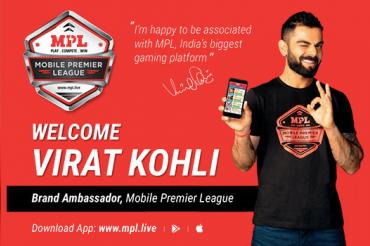 Gaming startup ropes in Virat Kohli as brand ambassador