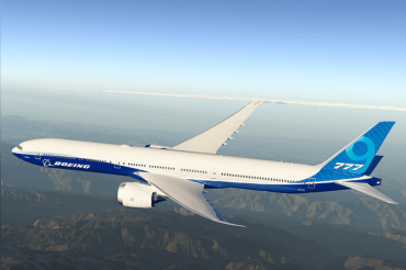 Boeing 777X, the largest passenger plane unveiled in a small event