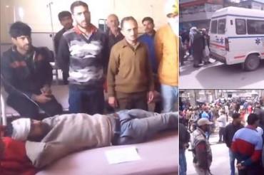 जम्मू-कश्मीर: 500 फीट गहरे नाले में गिरी टैक्सी, 11 की मौत, 4 घायल