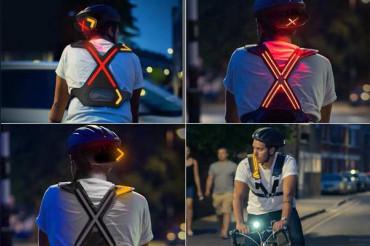 रात में साइकिलिंग करने वालों के लिए इस कंपनी ने बनाई ये खास डिवाइस