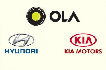 Ola में Hyundai और Kia Motors करेंगे 30 करोड़ डॉलर का Investment