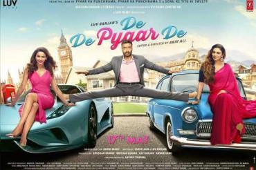 दो लड़कियों के बीच फंसे अजय की 'दे दे प्यार दे' का फर्स्ट लुक आउट