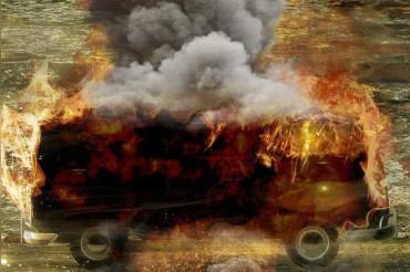 चीन के हुनान में बस में लगी आग, 26 की मौत, 28 घायल