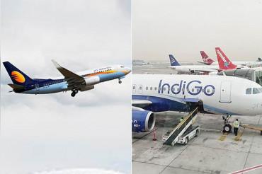 Jet Airways और Indigo का वित्तीय संकट बढ़ा, 13 लाख सीटें और 30 उड़ाने घटीं