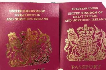 British Passports issued without 'EU Label' despite Brexit delay
