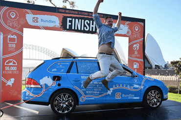 World's Longest Electric Car Trip of 95,000 km Ends in Australia
