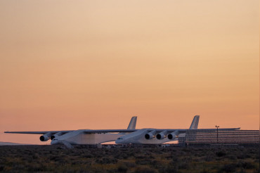 Stratolaunch Systems's world's largest plane flew for the 1st Time