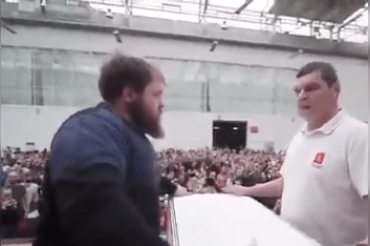Russia's 1st Male Slapping Championship to prove themselves Strongest:Freakish