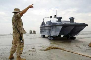 "China builds First Amphibious Autonomous Military Landing Vehicle ""The Marine Lizard"""
