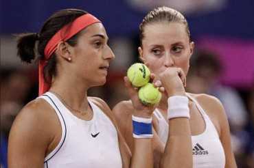 France reach sixth Fed Cup final beating Romania