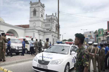 Another blast near Colombo church, state of emergency from midnight announced