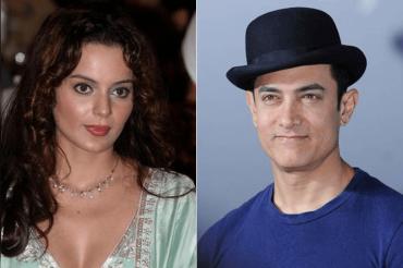 Kangana Ranaut donates 1 lakh to Aamir Khan's Paani Foundation