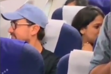 In a rare view, Aamir Khan spotted traveling in economy class, video going viral