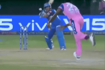 Jofra Archer hits the stumps; Prithvi Shaw survives as bails didn't fall