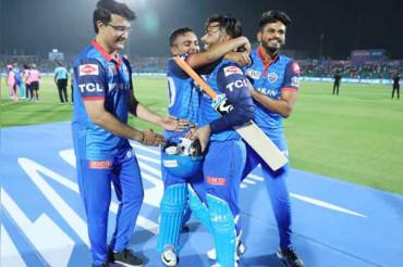 Sourav Ganguly salutes Rishabh Pant after Delhi Capitals win