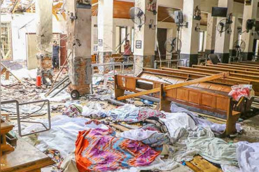 Islamic State claims responsibility of 321 deaths during Sri Lanka attacks
