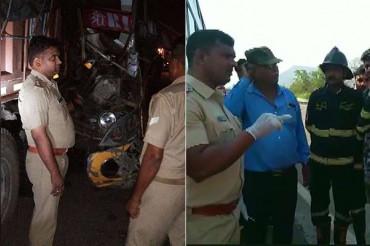 उन्नाव सड़क-दुर्घटना में ड्राइवर की मौत, 20 घायल; महाराष्ट्र में 2 की मौत, 20 घायल