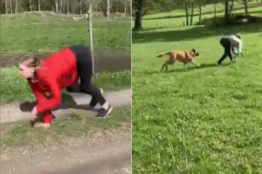 बिल्कुल घोड़े की तरह दौड़ती है महिला,VIDEO देख हैरान हुए लोग
