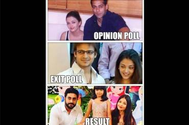 Comments on exit poll, Vivek Oberoi trolls Aishwarya & gets slammed by Sonam