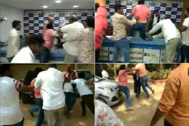 तेलंगाना: हैदराबाद प्रेस क्लब में हंगामा, अनुसूचित जाति परिरक्षण समिति के अध्यक्ष पर हमला