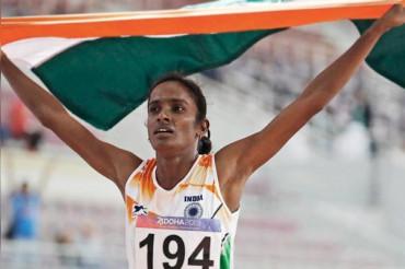 Indian runner failed dope test after winning Asian title