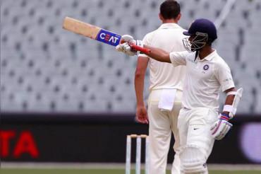 Ajinkya Rahane hits hundred on County debut