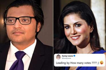 टीवी ऐंकर अर्णब गोस्वामी ने सनी देओल की जगह लिया सनी लियोनी का नाम, मिला धांसू जवाब