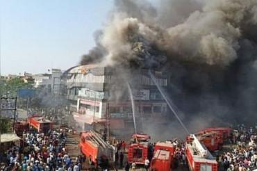 सूरत : कोचिंग सेंटर में भीषण आग, 20 छात्रों की मौत