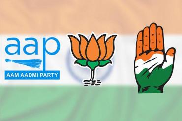 70 में से 65 विधानसभा क्षेत्रों पर BJP, AAP को झटका, कांगेस को राहत