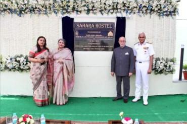 इंडियन नेवी की पहल, शहीद विधवाओं के लिए बनाया 'सहारा हॉस्टल'
