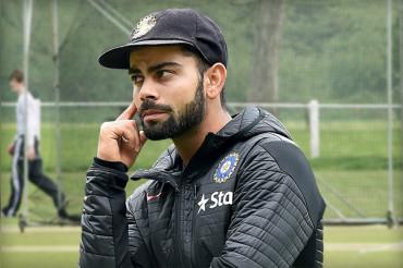 वर्ल्डकप मैच से पहले भारत को लगा झटका, कप्तान 'कोहली' हुए चोटिल