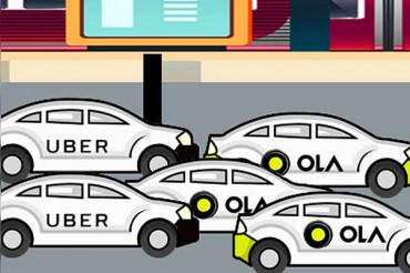 Ola-Uber की Business Growth में गिरावट दर्ज, किराया भी बढ़ा