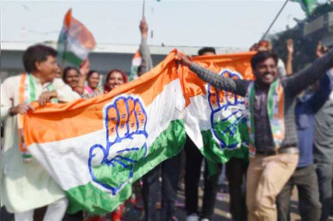 Congress team in Telangana become small after 12 of its MLAs joined TRS