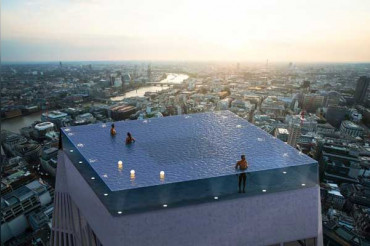 London to get world's first 360-degree infinity pool