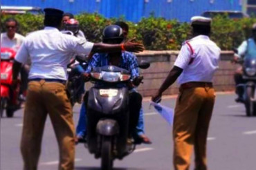 305 Lucknow Cops charged in a day over Traffic Violations