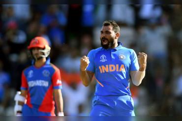 मोहम्मद शमी की हैट्रिक ने भारत को 50 वीं WC जीत दिलाई