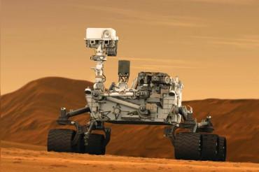NASA's Curiosity rover found high amounts of methane gas in Martian air