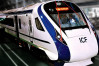 Semi-high speed train Vande Bharat hit animals and motorcycle, ran late by 95 minutes
